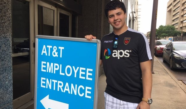 Evan Pittman spent summer 2019 as an intern in the C-Suite of AT&T - one of the world's largest companies